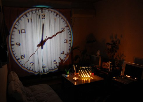 ANALOG PROJECTION CLOCK