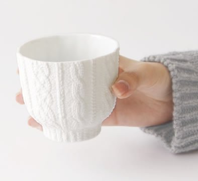Trace Face cup knit wear
