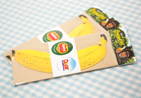 Banana MessageCard