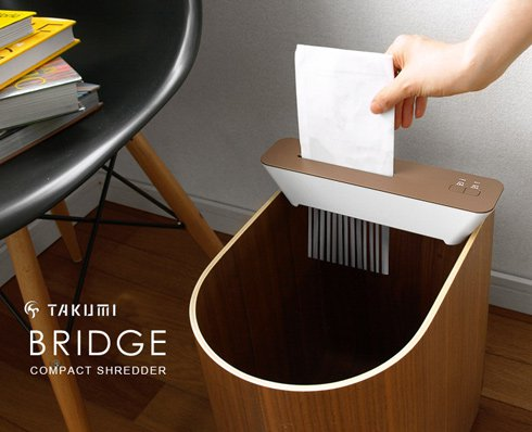 Compact Shredder Bridge