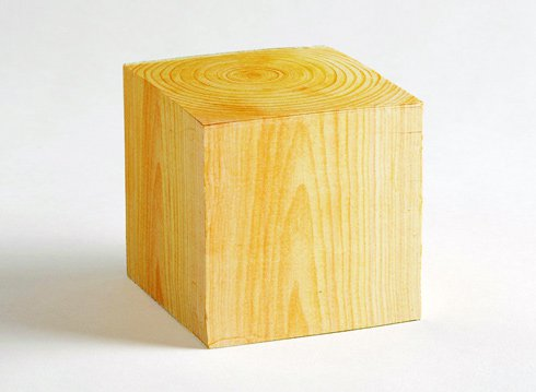 Hinoki Memo Cube With Fragrance