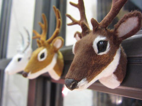 Deer Head magnet
