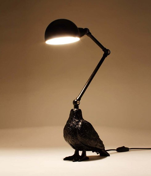 GOODY GRAMS BIRD LAMP