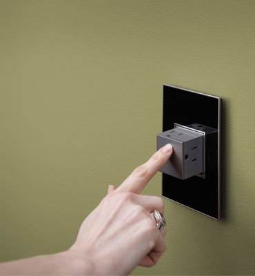 Pop-Out Outlet lets