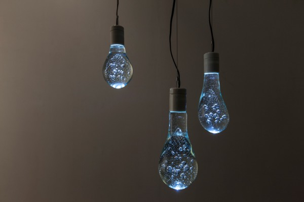 water balloon light bulb
