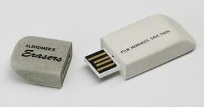 Eraser USB stick