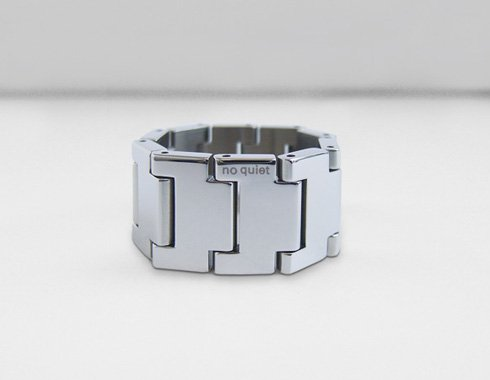 no quiet watch band ring C