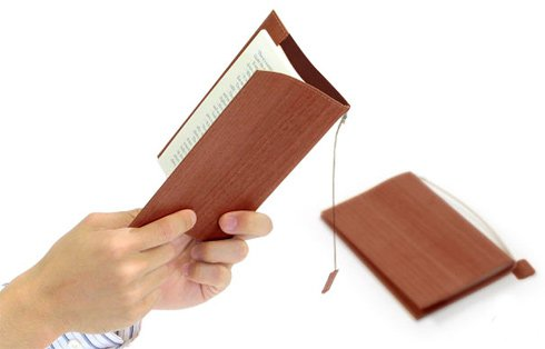 Wood Sheet Book Cover